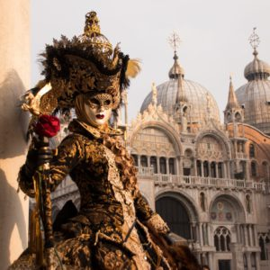 Costume du Carnaval de Venise Mattacini