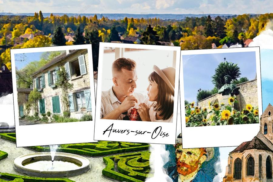 Carte postale d'Auvers-sur-Oise en Ile de France