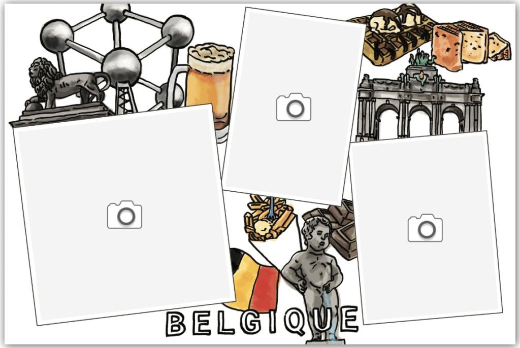 carte spécialités culinaires belges