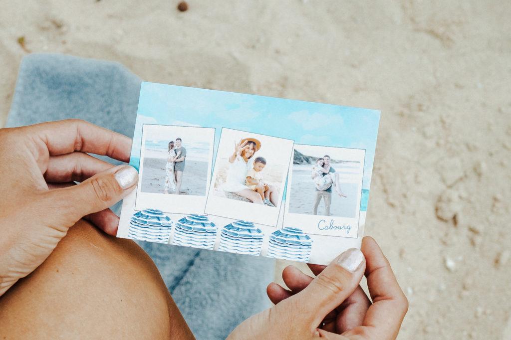Carte postale de Cabourg en Normandie