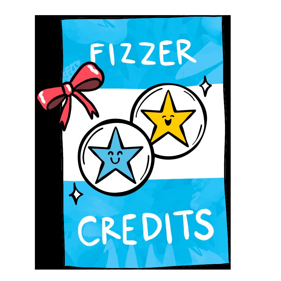 Carte cadeau Fizzer