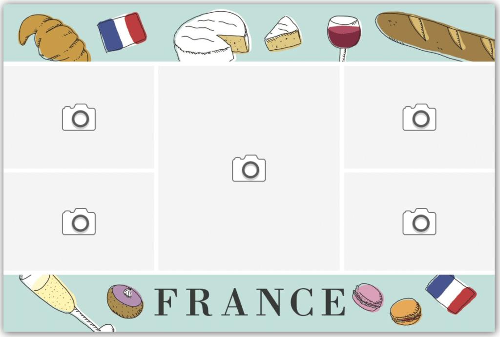 carte spécialités culinaires françaises