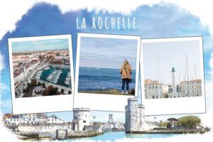 Carte de la Rochelle avec son port
