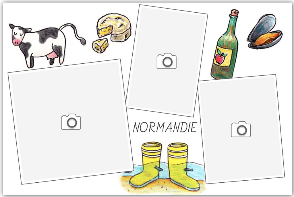 carte spécialités culinaires normandes