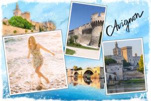 Carte postale pont d'Avignon