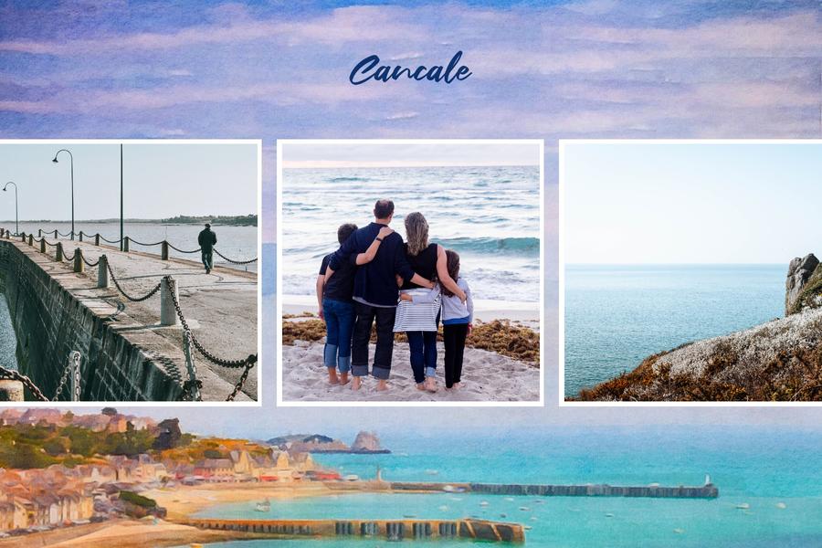 Carte postale de Bretagne Cancale