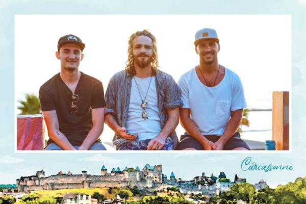 carte postale carcassonne occitanie