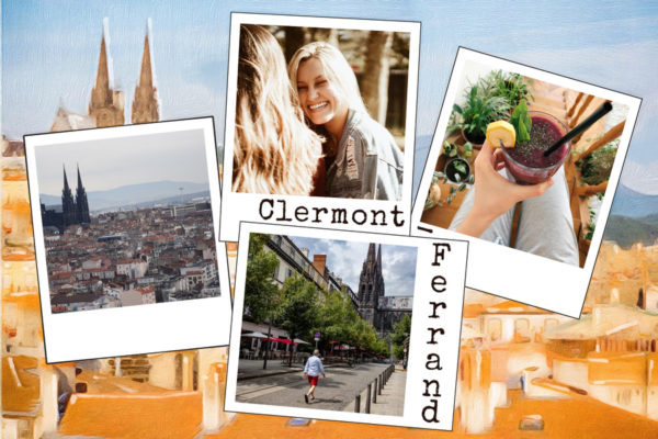 Carte postale de Clermont-Ferrand en Auvergne