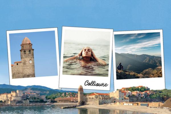 carte postale collioure