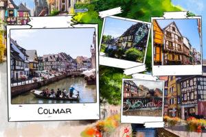 Village de Colmar en Alsace