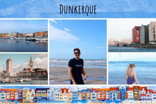 Maisons colorees de Dunkerque