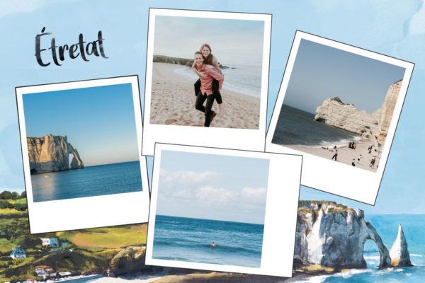 Carte postale Falaises d'Etretat en Normandie