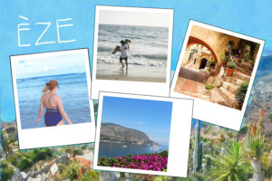Carte postale avec photos de Eze