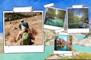 carte postale Lac bleu
