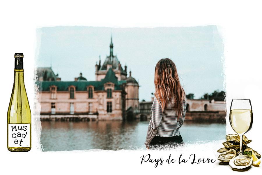 Carte postale Pays-de-la-Loire