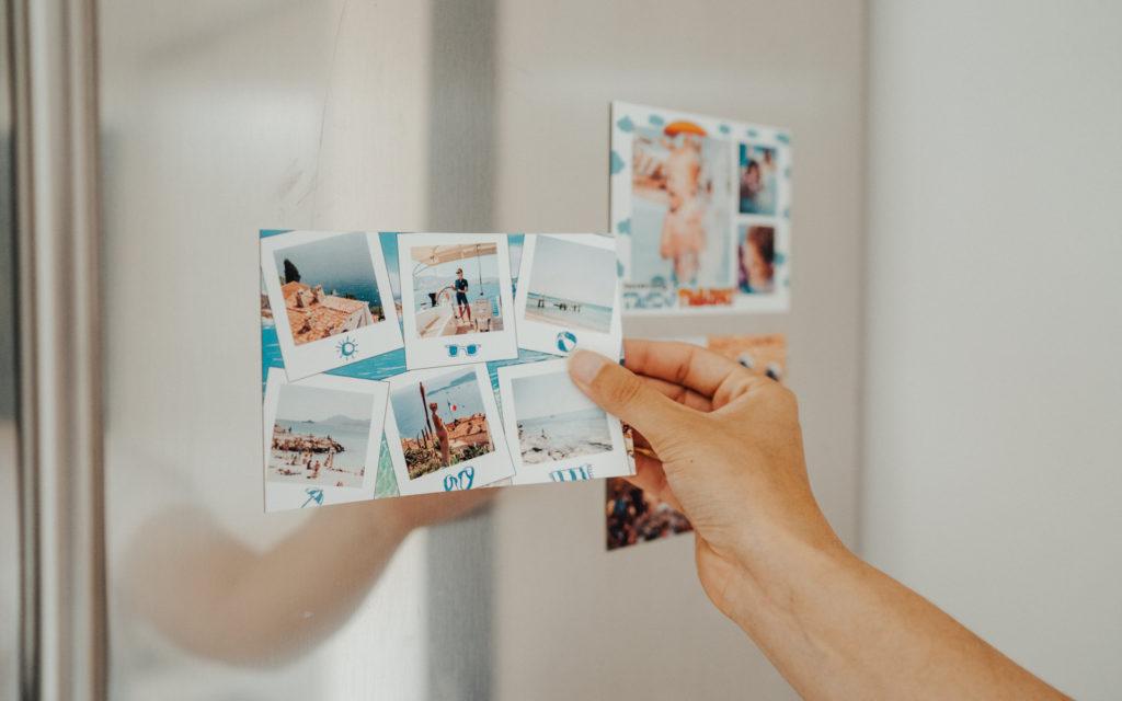 Carte postale personnalisee et aimantee de Marseille sur la Cote d'Azur