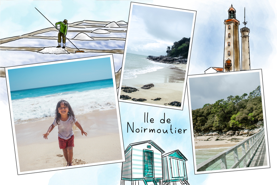 Carte postale de Noirmoutier en France
