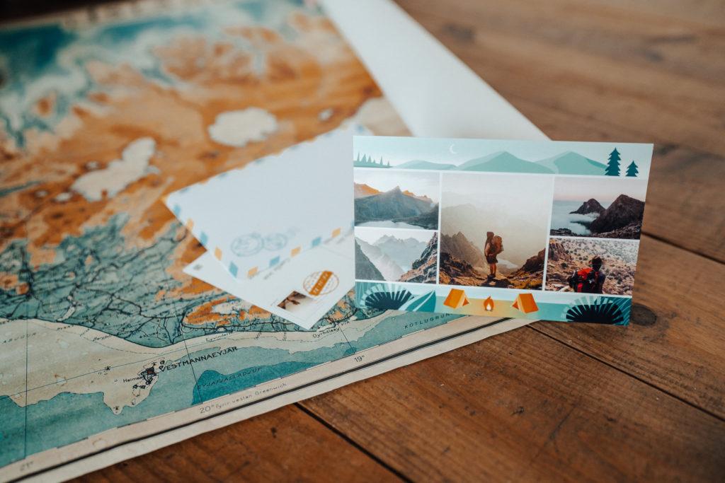 carte postale montagne suisse
