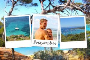 Carte postale de Porquerolles sur la Cote d'Azur
