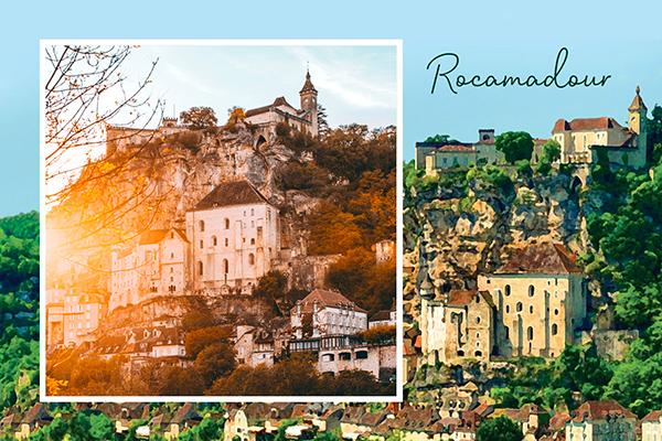 Carte postale Rocamadour