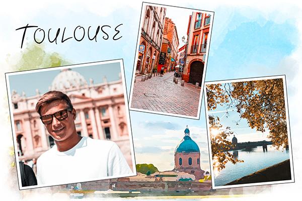 Carte postale de Toulouse