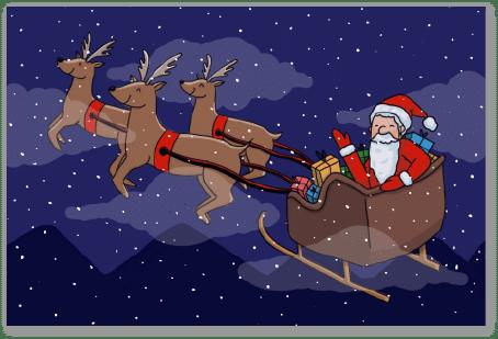 Traineau du Père Noël