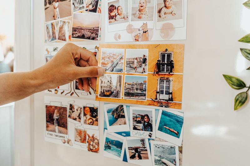 Carte de voeux Entreprise aimantee pour entreprises