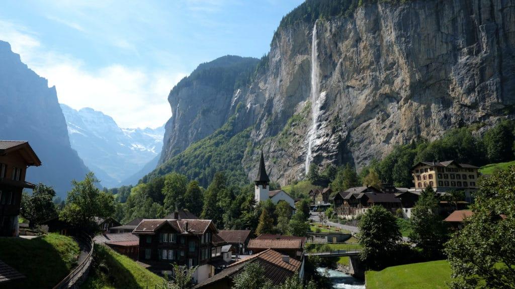 cascade lauterbrunnen