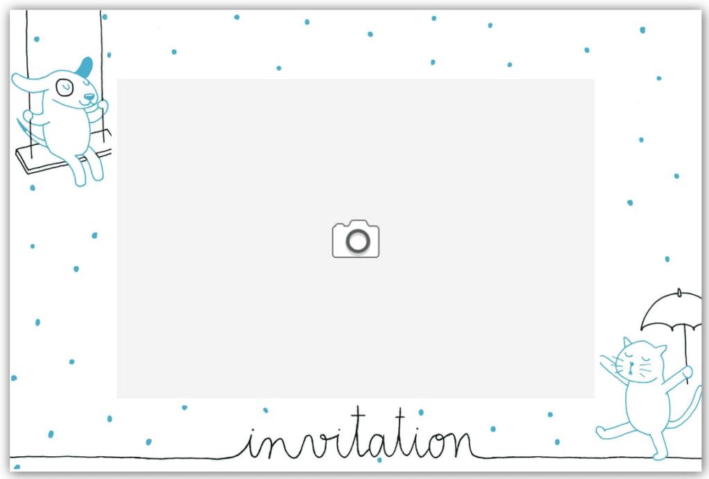 Invitation chat funambule