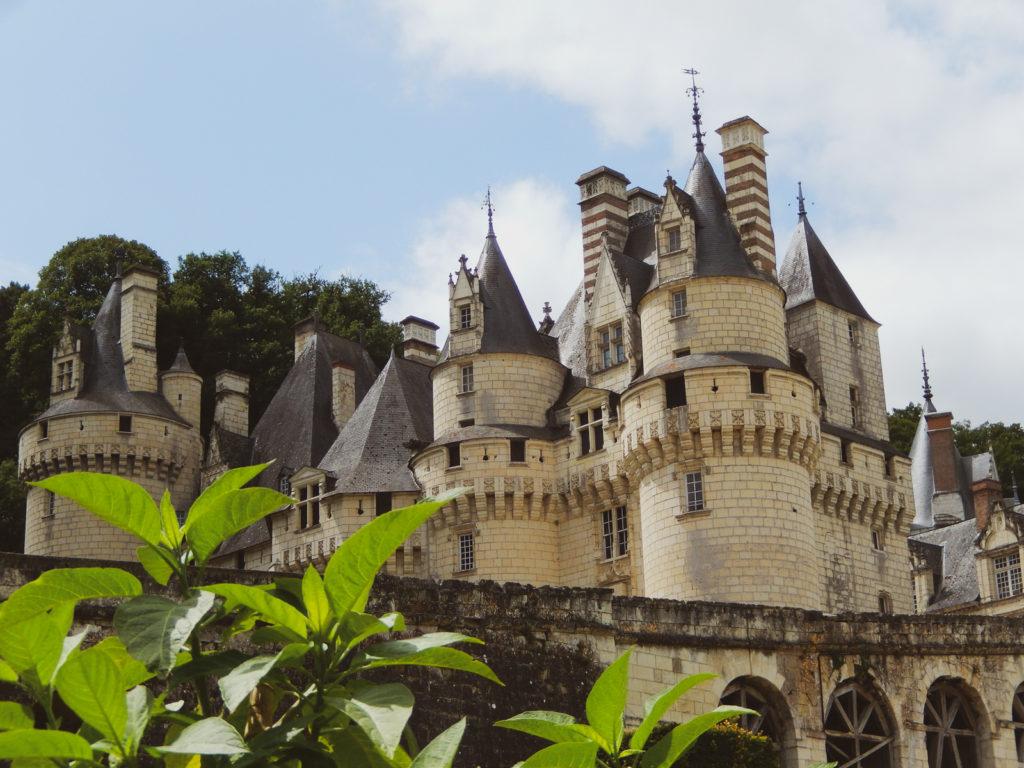 Chateau d'Usse dans la Loire Belle au Bois dormant