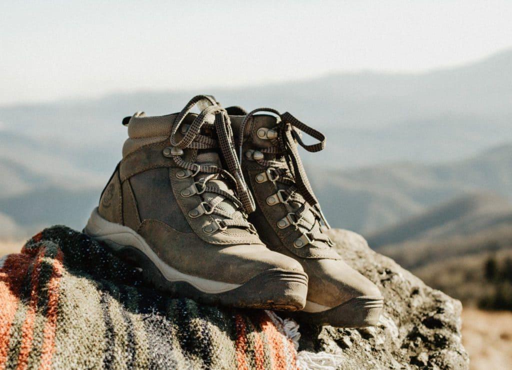 Chaussures de randonnée cadeau d'anniversaire