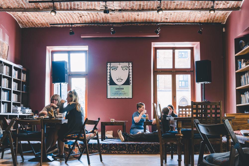 Cheder, café moyen-orient à Cracovie en Pologne