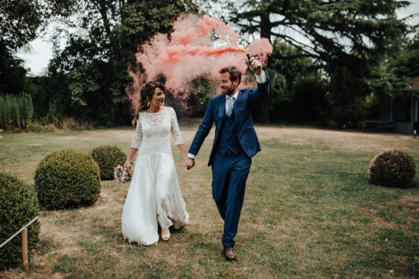 Mariés captures par Arthur Joncour, photographe de mariage en Normandie