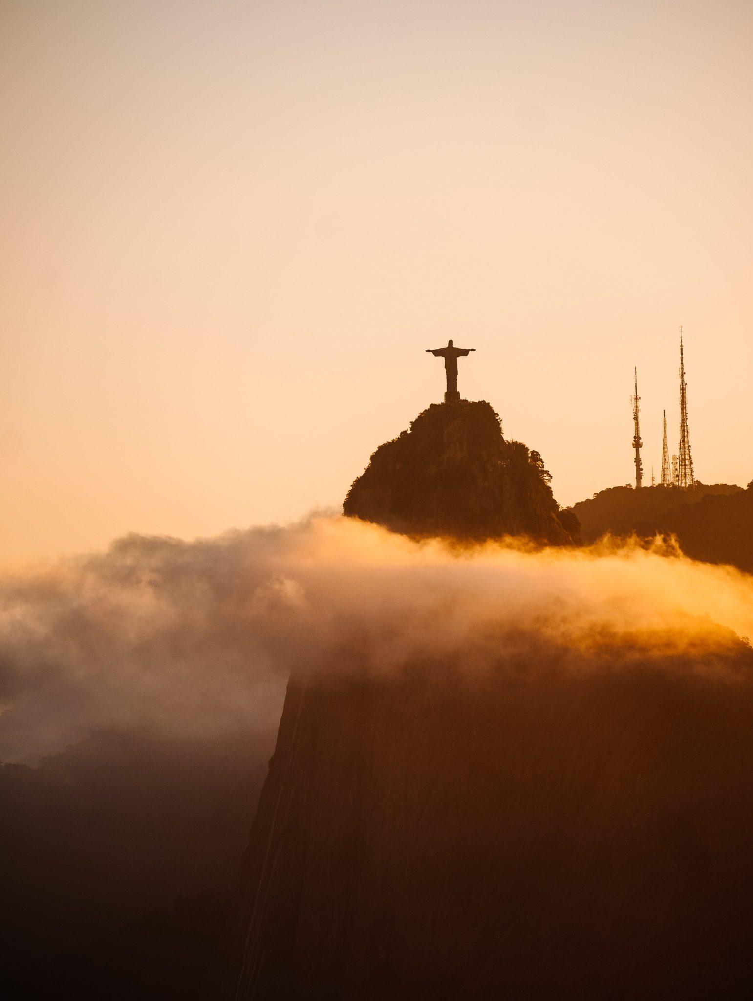 Christ de Rio de Janeiro au Bresil