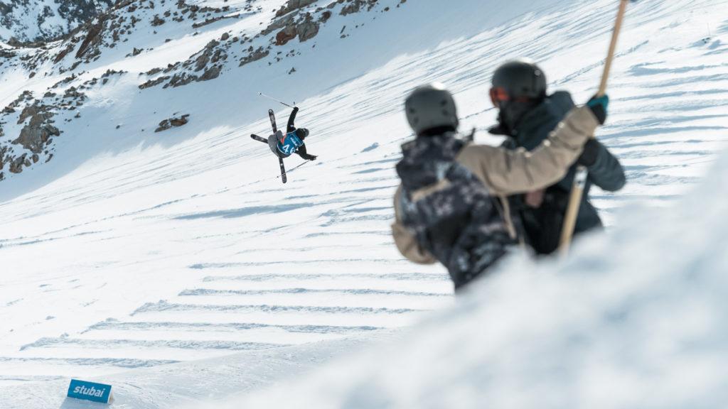 Chute a ski