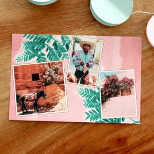 carte rose et colorée pour codes promo Fizzer