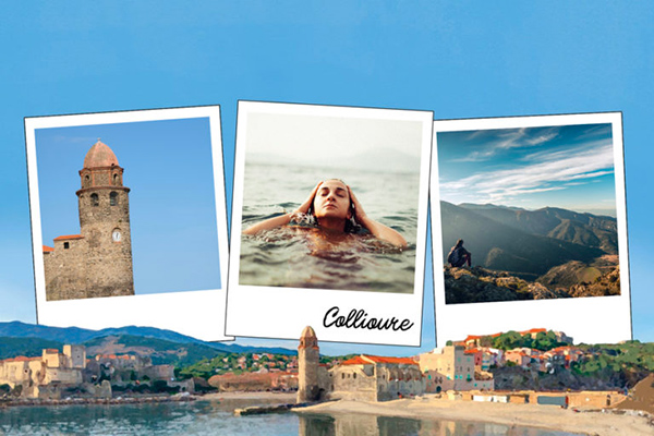Carte postale port de Collioure