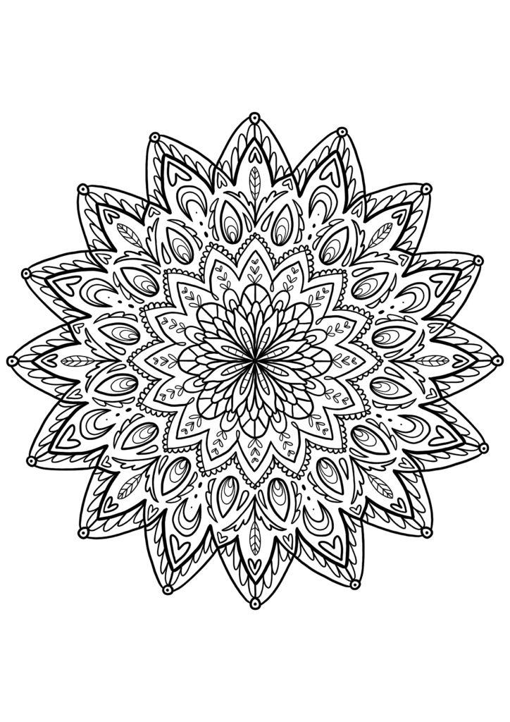 coloriages mandala a imprimer pour adultes