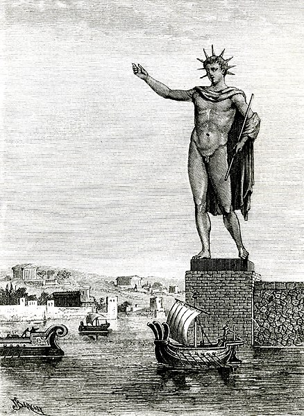 Colosse de Rhodes en Grece