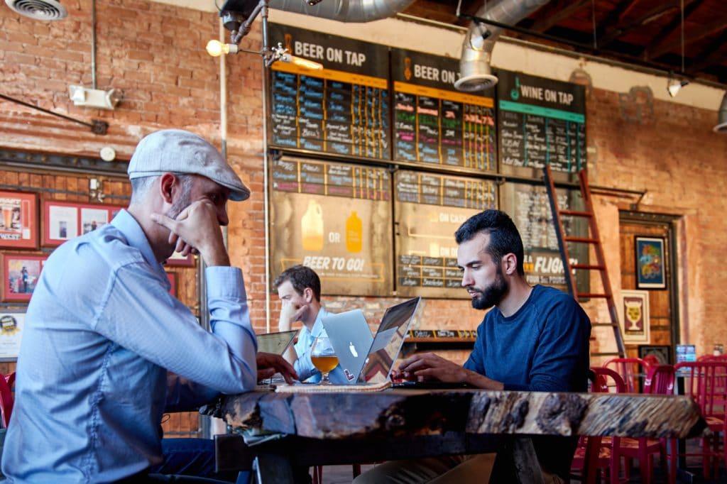 Espace de coworking aux Etats-Unis