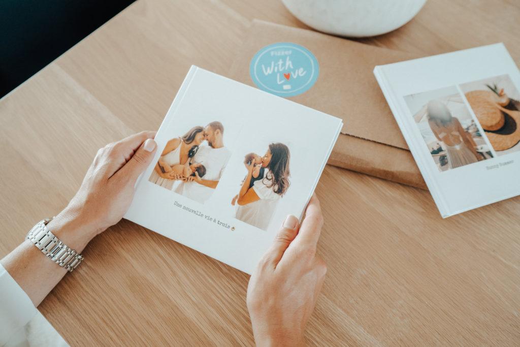 Couverture Album Photo de Naissance Fizzer