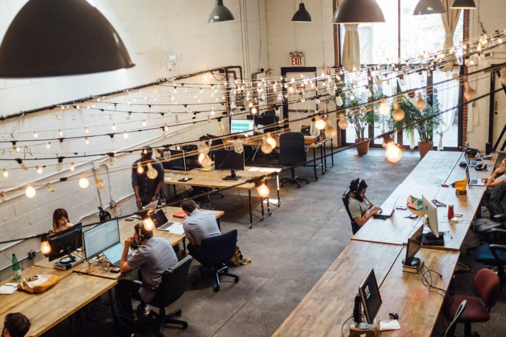 Espace de coworking pour freelances et télétravailleurs