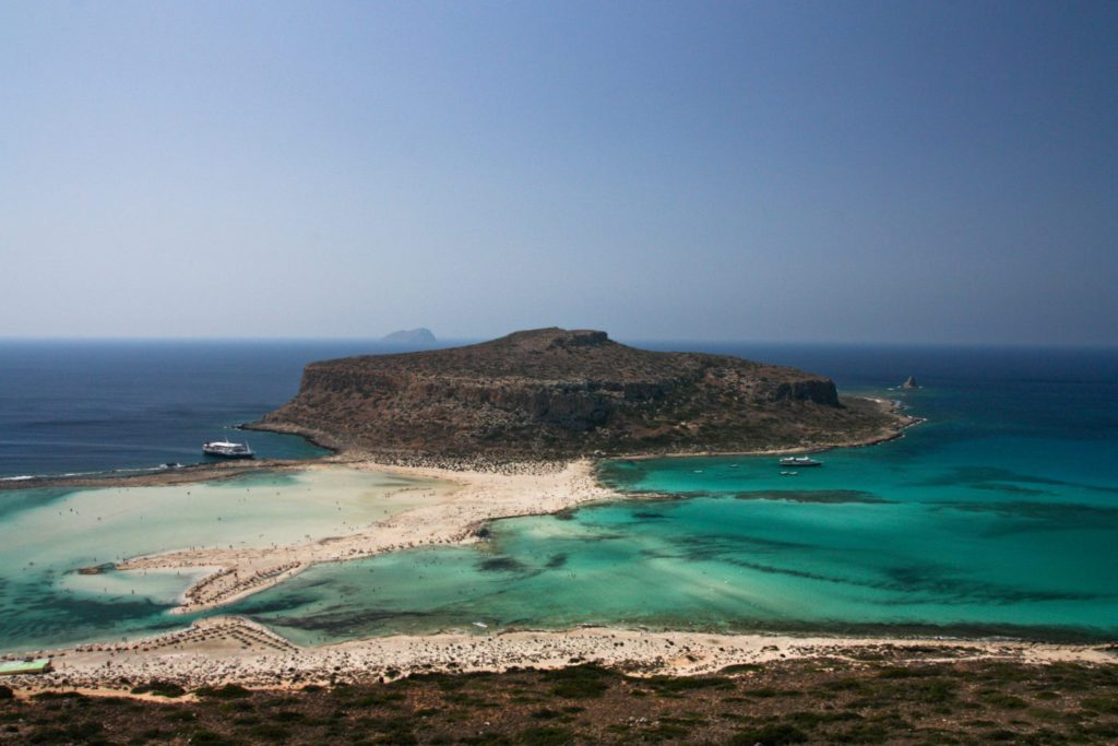 Balos île en crète