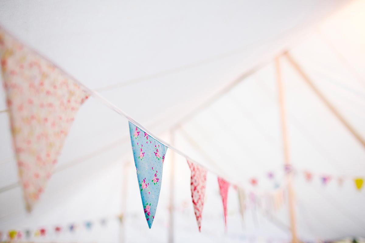 Fanions en tissu pour decoration d'anniversaire adulte