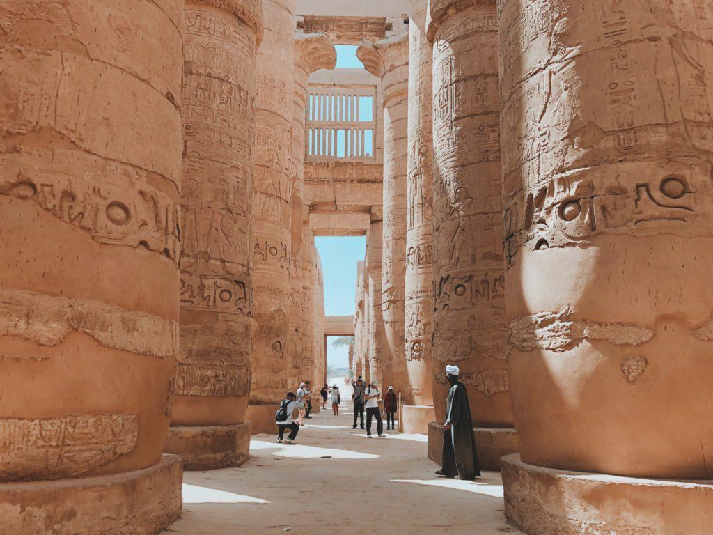 vestiges historiques egypte nil