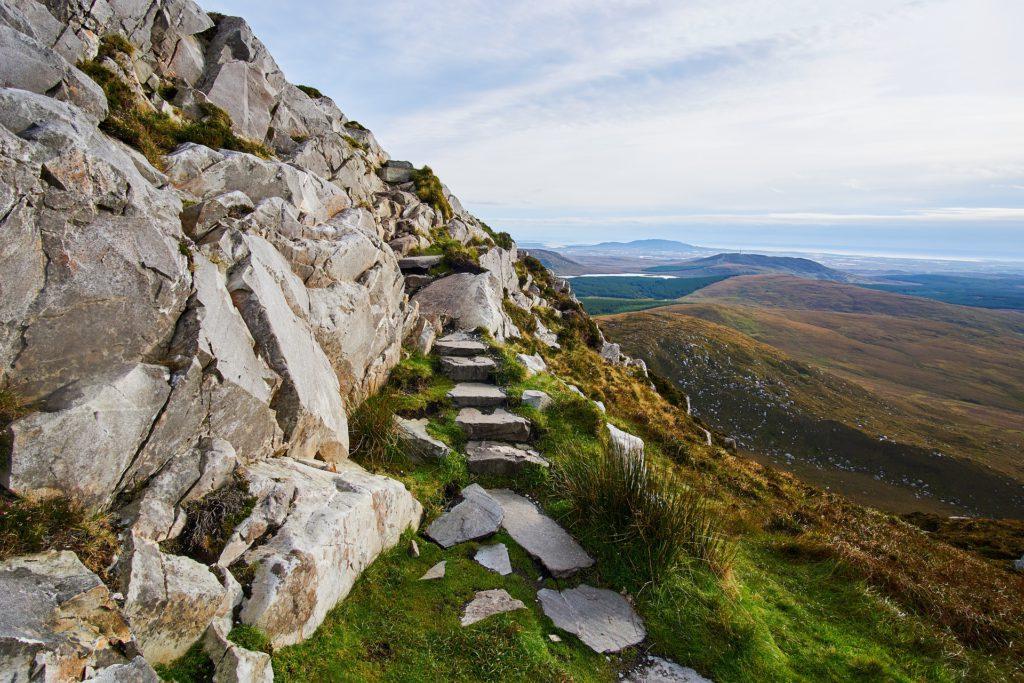falaises galway irlande