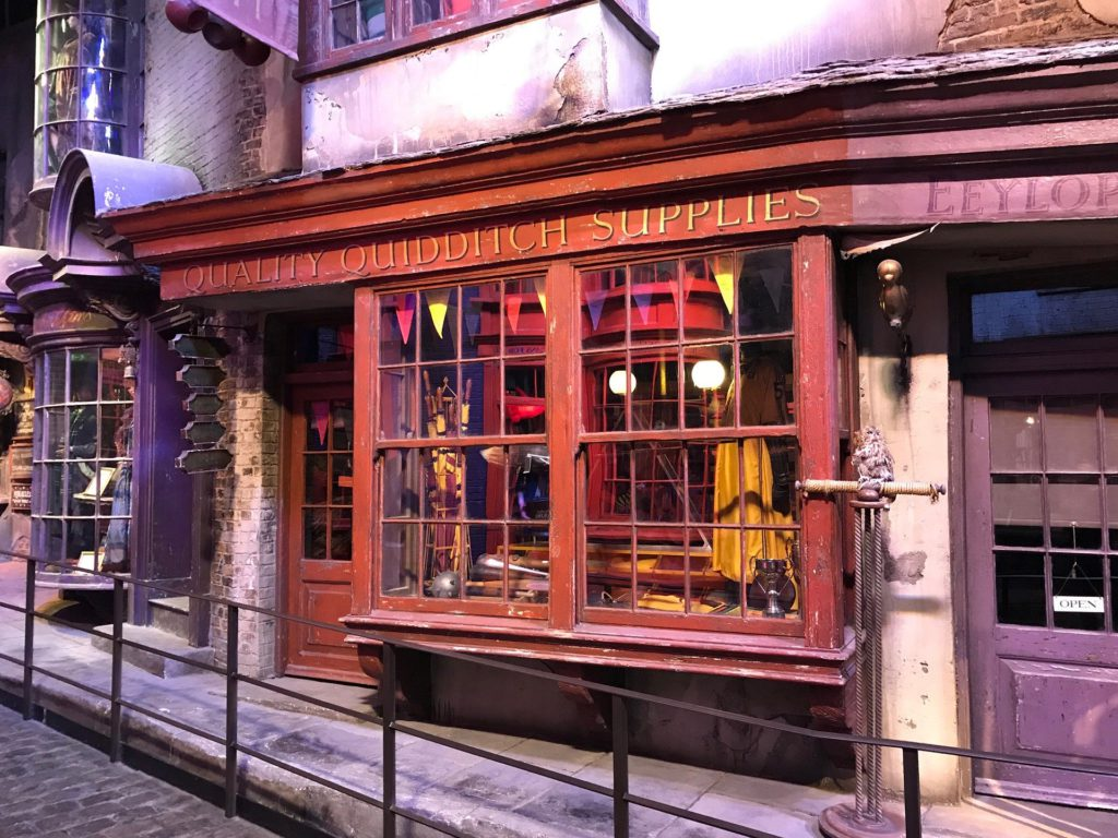 diagon alley studio warner bross Harry Potter a Londres
