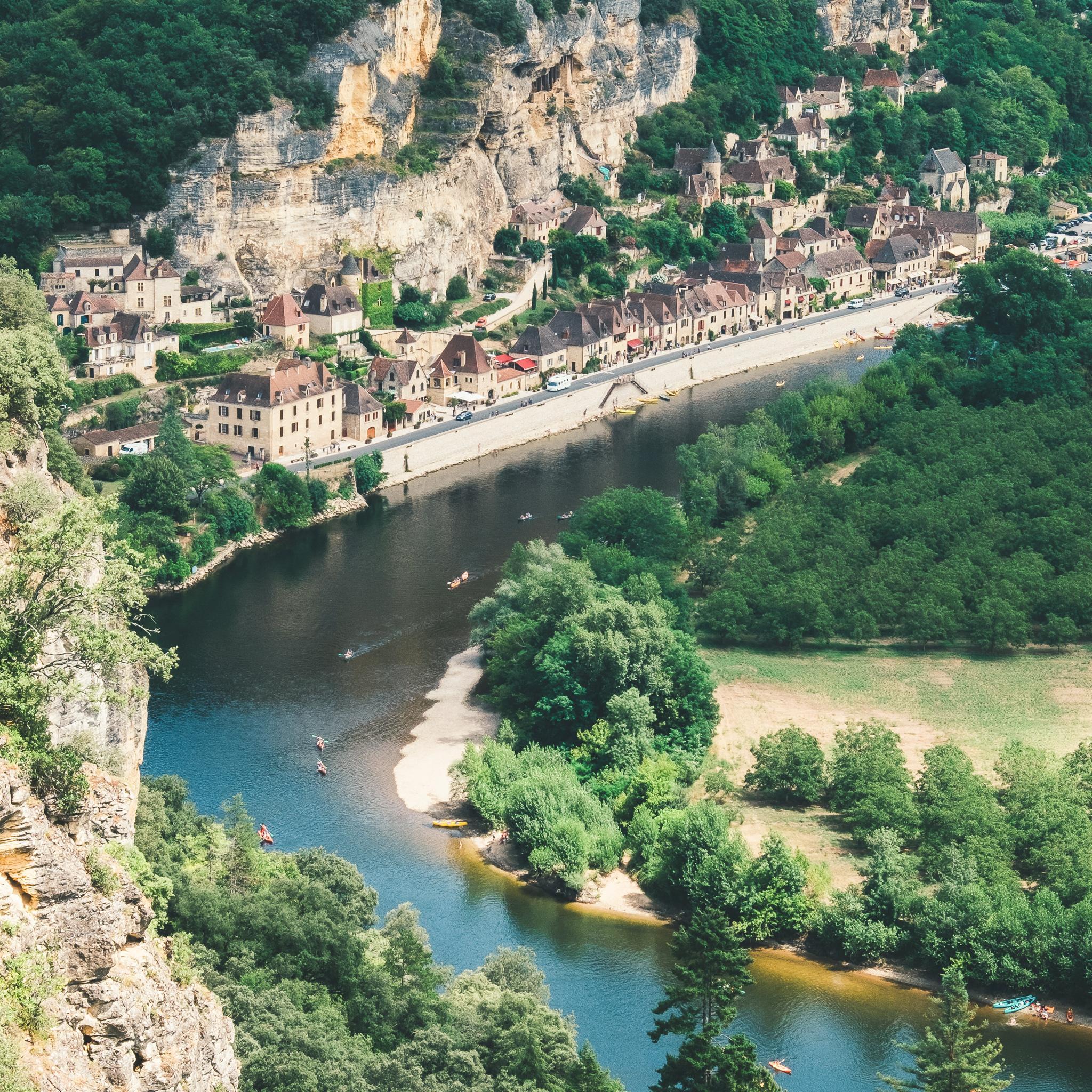 dordogne riviere nouvelle aquitaine
