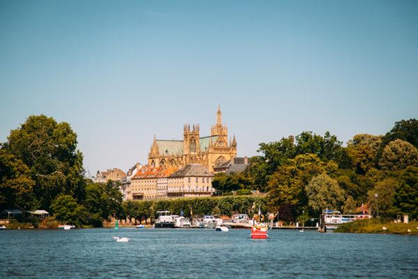Ville de Metz en region Grand Est