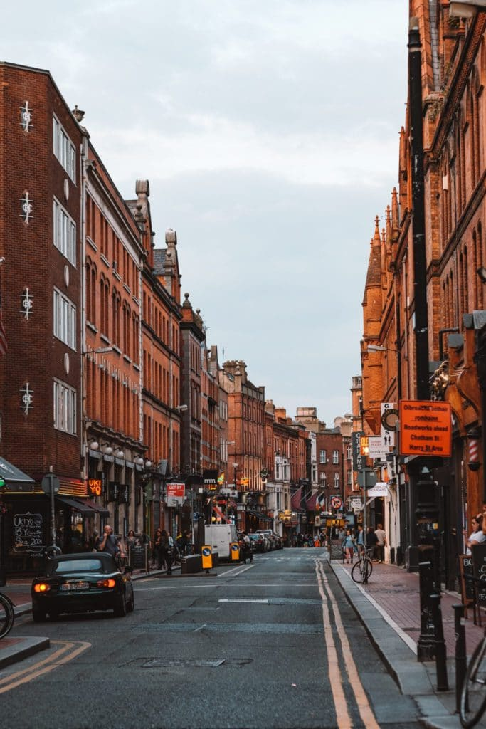 Dublin vacances toussaint